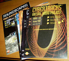 CYBERTRACKS + SOUNDSCAPES 6 Riviste Virtual Audio Project Relaxing Music