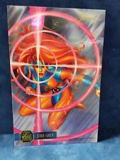 """1995 Flair Marvel Annual Jean Gray 6 1/2 x 10"""" Flair Prints Jumbo Card"""
