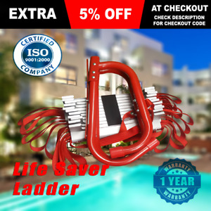 SAFETY RESPONSE FIRE ESCAPE LADDER - Fire Flame Resistant Emergency Was $129