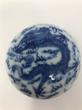 Chinese Antique Porcelain Inn Box Have Made And Sigh Qing Ming China Asian