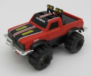 Vtg Schaper Stomper Red Datsun Turbo Truck 4x4 Toy READ
