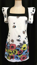Unique Cotton French Connection Floral Dress - Size 10