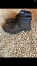 Nautica Boys  Ankle Brown Boots Youth Size 5