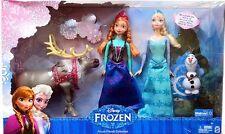 Walmart Disney Frozen Exclusive Friends Collection, Anna, Elsa, Olaf & Sven LOOK