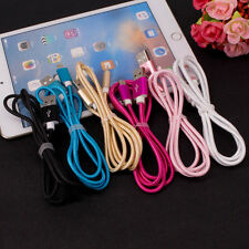 0.5/1/2/3 Lot Braided Fast Data Sync Charger Cable Cord For iPhone 5 5s 6 7 Plus
