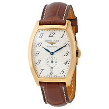 Longines Evidenza Silver Flinque Dial Automatic Mens Watch L2.642.8.73.4