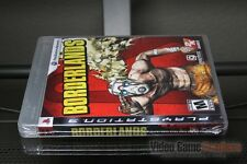 Borderlands First Print (PlayStation 3, PS3 2009) FACTORY SEALED! - ULTRA RARE!