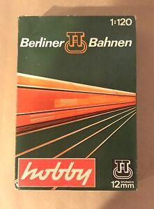 Berliner Bahnen TT (1:120) Scale Berliner Starter Set BR130 & 4 Cars