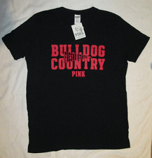"Victoria's Secret PINK Fresno State ""Bulldog Country"" Tshirt M-L Loose Fit NWT"