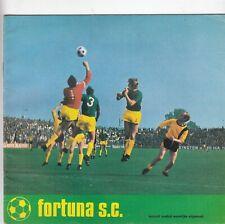 Fortuna SC - Club Magazine 1971/2 (Edition Number 9)