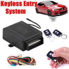 Universal Car Auto Remote Control Central Door Lock Locking Keyless Entry System