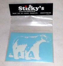 STICKY'S 5 YEAR VINYL DECALS - BEAR (21)