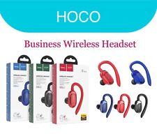 HOCO E26 Plus Bluetooth 5.0 Single Wireless Hanging EarPhone Hi-Fi Headset