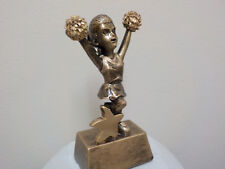 """cheerleading trophy or award, nice design, about 5"""" High, comes with engraving"""