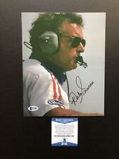 Dale Inman autographed signed 8x10 photo Beckett BAS COA NASCAR HOF Legend Rare