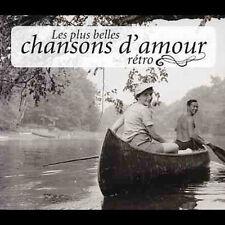 Les Plus Belles Chansons D'Amour Retro - Various 4CD Set  LIKE NEW  DB2013