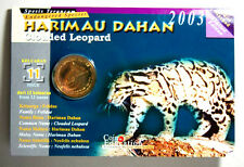 25 sen coin card 2003 (Harimau Dahan)