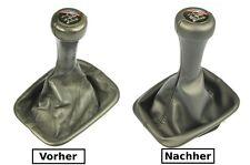 BMW E30 E32 Bj.85-93 Abdeckung Lederbezug Leder Schaltsack  für Schaltknauf N381