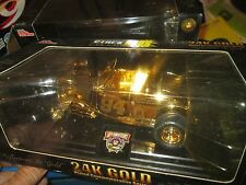 #94 BILL ELLIOTT stock rods 32 FORD COUPE  Racing champions 1/24 gold PLATED
