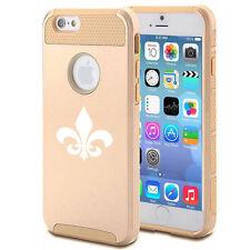 For iPhone SE 5 5s 6 6s 7 Plus Shockproof Impact Hard Case Cover Fleur De Lis