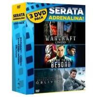 WARCRAFT - STAR TREK BEYOND - OBLIVION (3FILM) DVD