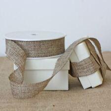 Hessian Burlap Ribbon 2.5cm Width - Sold By The Metre