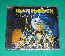 Iron Maiden - Live After Death  World Slavery Tour 85 BRAZIL ONLY CD SEALED 2008