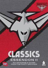 AFL Classics - Essendon II (DVD, 2017, 6-Disc Set) New & Sealed