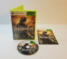 Sniper: Ghost Warrior (Microsoft Xbox 360, 2010) cib complete with manual
