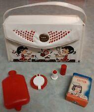 Vintage Hassenfeld Bros Hasbro Vinyl Kids Purse Dolly's Make-up lot 1950-60's