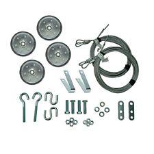 "Extension Spring Garage Door Pulley Kit - 4"""