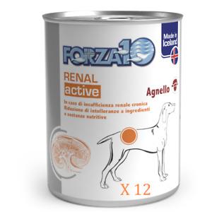 RENAL ACTIVE FORZA 10 UMIDO CON AGNELLO 390 GRAMMI PER CANI - 12 SCATOLETTE