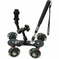 Vidpro SK-22 Professional Skater Dolly for Digital SLR Cameras & Video Camcorder