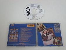 THE MAMAS AND THE PAPAS/GOLDEN GREATS(MCA DMCM 5001) CD ALBUM