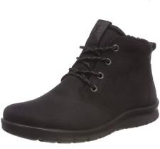 ECCO Babett Black Nubuck Leather Boots, UK 6.5-7