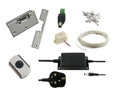 Simple Door Entry Kit + Power Supply + Electric Lock Release
