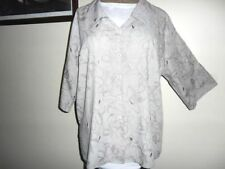 Career Button Down Shirt Plus Size 100% Cotton Tops & Blouses for Women
