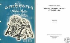 Wright Cyclone 9 GC Engine Overhaul Service Manual rare detail archive 1940's