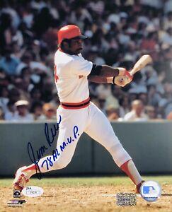 Jim Rice Boston Red Sox 8x10 W/JSA Certification.. Nice Inscription!