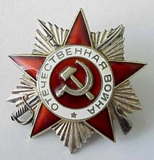 """Russian Soviet 999"""" Silver Order Badge Honor Military Labor Gold Enamel Award Matching In Colour Militaria Antiques"""