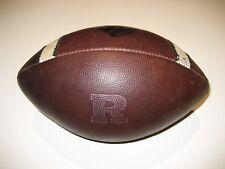 Rutgers Scarlet Knights GAME USED Nike Vapor One 1 Football - UNIVERSITY BIG 10
