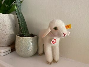 Steiff Vintage Lamb -033353 Retired Lamm