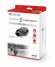 Interphone Sport Motorcycle Helmet Bluetooth Universal Intercom System - Single