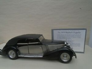 1939 MAYBACH ZEPPELIN  1/24 scale precision model by the Franklin Mint (1992)