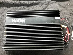 Rare NOS HAFLER MA1 Car Stereo Amplifier TO3 / Linear Power and Tru SQ Audio RF