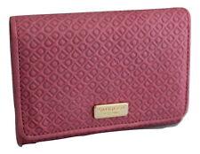 Saddler Leather Embossed Purse Wallet Pink