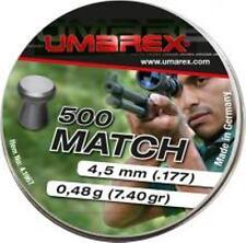 Diabolo für Luftgewehr Pistole 5000St  Umarex Match Flachkopf