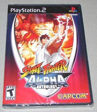 Street Fighter Alpha Anthology for Playstation 2 Brand New! Factory Sealed!