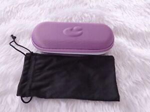 Used - Centrostyle purple glasses case & black pouch -proceeds to charity