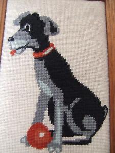 Gobbelin Bild im Holzrahmen Hund Strolch 24,5x37,5x2 cm Kinderzimmer